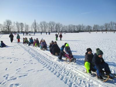 Foto zur Meldung: Lustige Winterwanderung