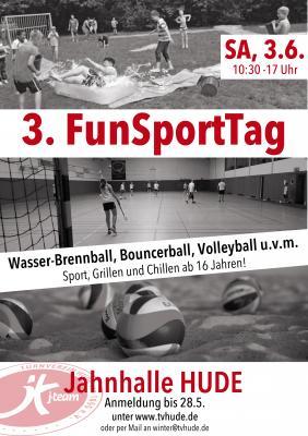Foto zu Meldung: Letzte Chance: Anmeldung zum FunSportTag am 3. Juni 2017