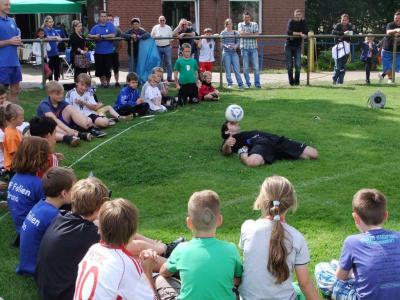 Foto zu Meldung: 2. Fussball-Schnuppertag bei Germania erfolgreich