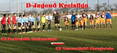 Foto zu Meldung: D-Jugend startet mit Niederlage in die Meisterrunde
