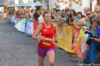 Foto zur Meldung: Aude Salord knackt 35-Minuten-Marke