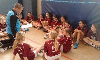 Foto zur Meldung: E2-Jugend - Klarer Aufwärtstrend trotz zwei Niederlagen
