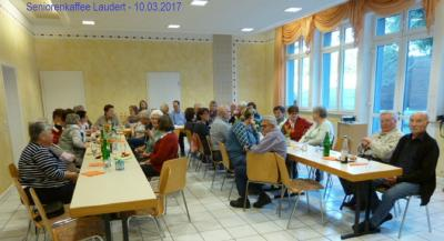 Seniorenkaffee am 10.03.2017