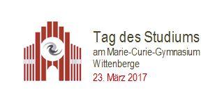 Vorschaubild zur Meldung: Tag des Studiums im Marie-Curie-Gymnasium I Bürgermeister übernimmt Schirmherrschaft