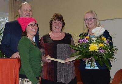Foto zur Meldung: Verleihung des havelländischen Frauenpreises