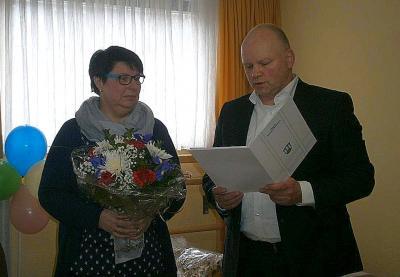Vorschaubild zur Meldung: 25. Dienstjubiläum von Martina Skolinowski