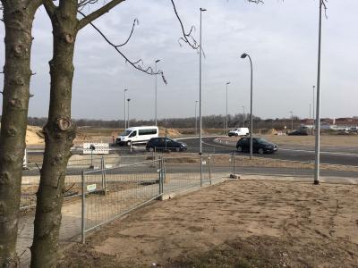 Kreisverkehr Spandauer Straße wieder offen