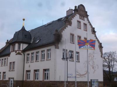 Flagge zeigen für Tibet in Großenlüder