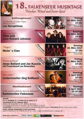 18. Falkenseer Musiktage