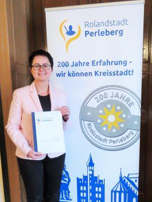 Bürgermeisterin Annett Jura
