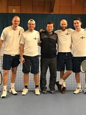 Vorschaubild zur Meldung: Tennisherren sind aufgestiegen