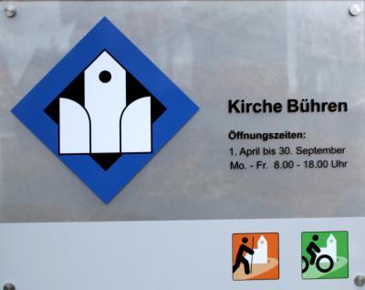 Foto zur Meldung: Ab April ist die Bührener Kirche verlässlich geöffnet