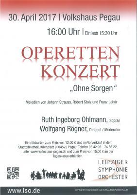 Vorschaubild zur Meldung: Heute 16 Uhr Operettenkonzert im Volkshaus