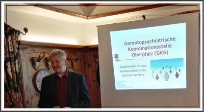 Foto zur Meldung: BERICHT : Informationsveranstaltung  Georg Pielhofer  Diakonie Amberg