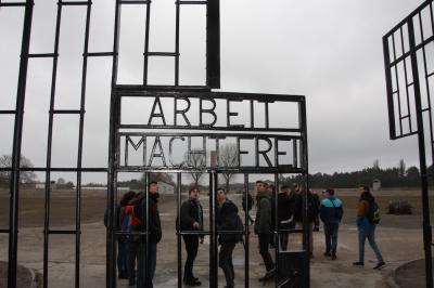 Foto zur Meldung: Exkursion zur Gedenkstätte Sachsenhausen