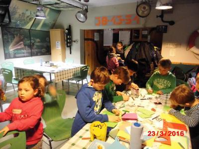 Foto zur Meldung: Groß Laasch - Kreativtage zu Ostern im Jugendclub
