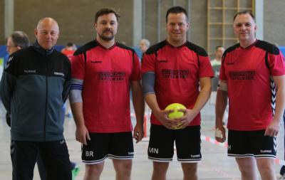 v.l.n.r.: Rüdiger Bursian, Björn Reschke, Marc Nies und Jens Hoffmann