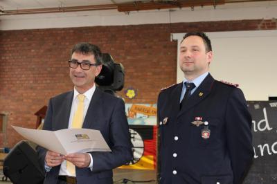 Foto zur Meldung: 132. Stiftungsfest der Freiwilligen Feuerwehr Bad Tennstedt
