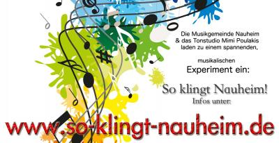 """Vorschaubild zur Meldung: """"So klingt Nauheim!"""" - Ein musikalisches Experiment"""