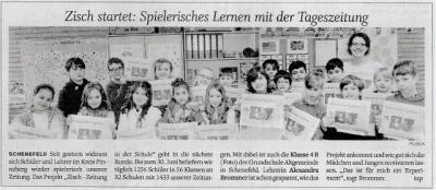 """Foto zur Meldung: Das Projekt """"Zeitung in der Schule"""" startet an der GSA"""