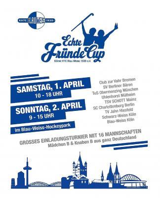 Vorschaubild zur Meldung: Großes Jugendturnier im Blau-Weiss-Hockeypark