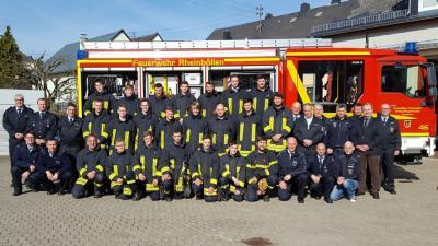 Foto zu Meldung: 22 neue Feuerwehrleute in der Verbandsgemeinde ausgebildet