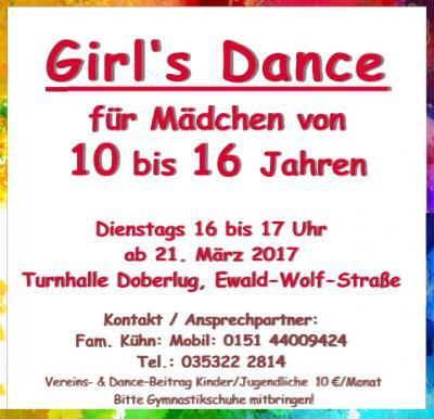 Vorschaubild zur Meldung: neue Sektion im Kinderbereich startet am Dienstag, 21. März 2017 - TSV Doberlug