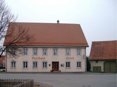 Vorschaubild zur Meldung: Verkauf ehemaliges Gasthaus Hirsch, Bellamont