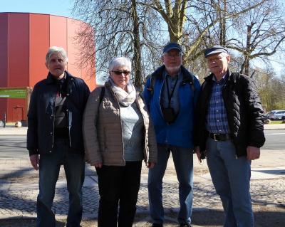 Foto zur Meldung: Museumsteam der Heimatstube erkundet Originalschauplätze der Reformation