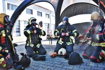 Foto zu Meldung: Action Days bei der Feuerwehr Oranienburg