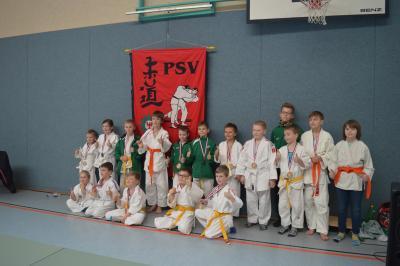 Foto zur Meldung: 20.Kinder- und Jugendsportspiele im Landkreis OSL - Judo in Senftenberg