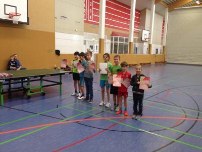 Foto zu Meldung: Mini-Meisterschaften im Tischtennis