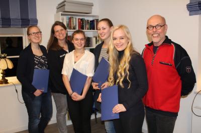Foto zur Meldung: Die Mitgliederzahl der DLRG Waldeck-Schafflund steigt weiter