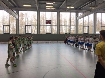 Floorball Schenefeld vs. Halle