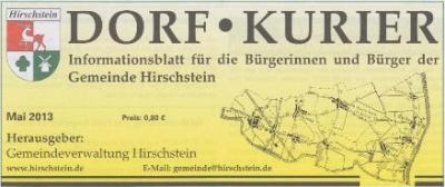 Vorschaubild zur Meldung: Neuer Dorfkurier-Zusteller für die OT Boritz und Schänitz gesucht