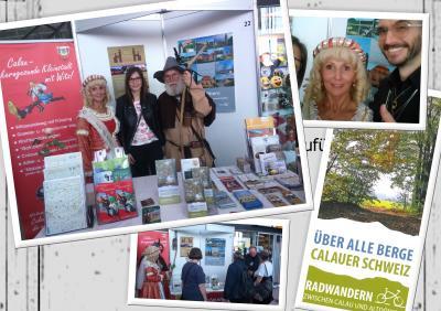 Foto zu Meldung: Calau mit neuem Flyer auf der Brandenburgischen Reisemesse