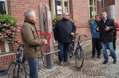 Einweihung der E-Bike-Ladestation am 14.10.2016