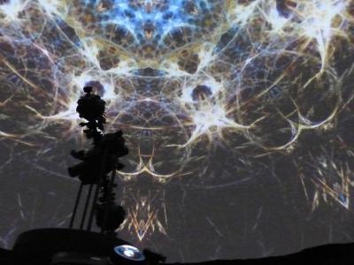 Foto zu Meldung: Planetarium mit Full-Dome-Technik