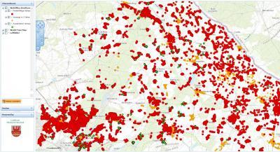 """Foto zur Meldung: """"Weiße Flecken"""" werden sichtbar: Geoportal MOL zeigt Breitbandausbau in Märkisch-Oderland"""