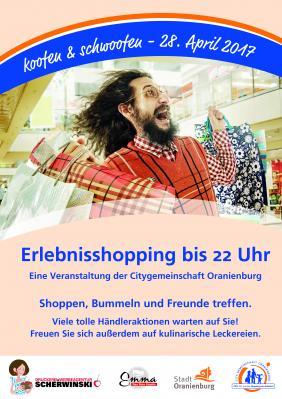Foto zur Meldung: Shoppingnacht Koofen & Schwoofen der CGO am 28.4.2017