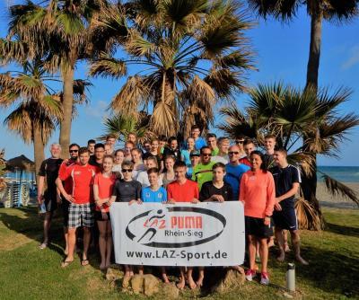 Foto zur Meldung: LAZ-Trainingslager 2017 in Spanien