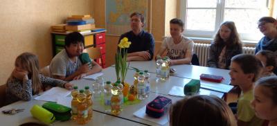 Foto zur Meldung: Austausch Schülerrat-Jugendrat