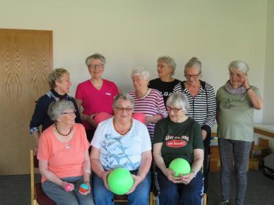 Seniorensportgruppe in Kremperheide