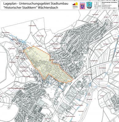 Foto zur Meldung: Projekt Stadtumbau in Wächtersbach beginnt