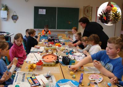 Foto zur Meldung: Osterprojekt in der Grundschule