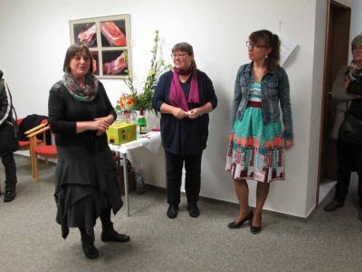 Foto zur Meldung: Neue Ausstellung in Rehfelder Entreegalerie