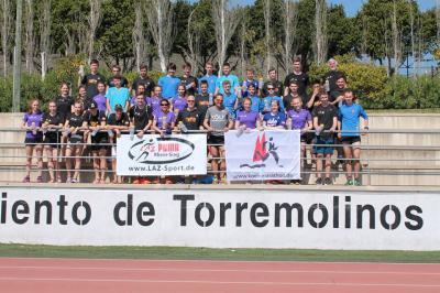 Foto zur Meldung: LAZ-Trainingslager 2017 in Torremolinos