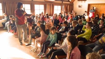 Foto zur Meldung: Zehnte Kinderbibelwoche in Wenings einfach genial