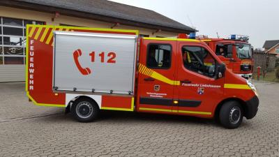 Foto zu Meldung: Neues Feuerwehrfahrzeug für die FFw Liebshausen