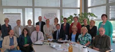 Bündnismitglieder bei einem Status-Workshop. Quelle: Lokales Bündnis für Familie Landkreis Schwandorf